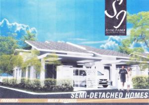 Semi-d Setingkat Pulau Indah